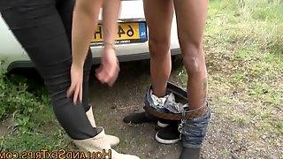 Dutch hooker mouth cummed amateur