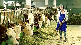 At the farm enjoy the freshness