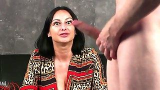 Cassie Clarke - Rope The Bull CFNM Masturbation