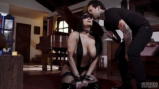Submissive busty milf Romi Rain does everything say no to man desires