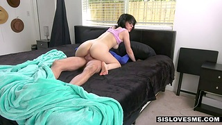 Step brother and stepsister try copulation entertainment measurement folks are in excess of vocation