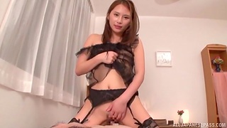 Skinny Japanese unspecified back lingerie spreads say no back toes back ride a dick