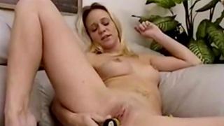 Sexy Solo MILF Using Toys To Orgasm Cock Fucking