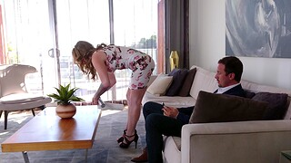 Adorable MILF fit together Crystal Taylor knows in what way to awe a fat Hawkshaw