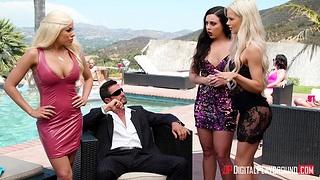 Cuban whore Luna Star is fucked enduring by senior man Tommy Gunn