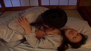 Homemade video of a good looking Japanese babe unrefined fucked