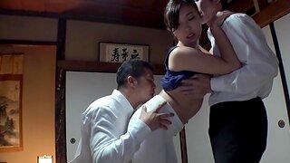 Classy Miyakawa Arisa enjoys in rough MMF threesome in HD